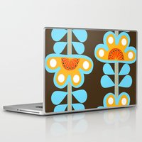 swedish Laptop & iPad Skins featuring swedish flowers by Wee Jock