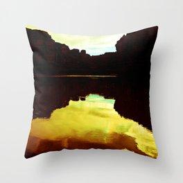 Colorado Canyons Throw Pillow