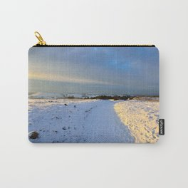 Lancashire Snow Scene Carry-All Pouch