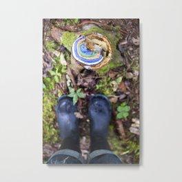 Slickers & Nature Metal Print