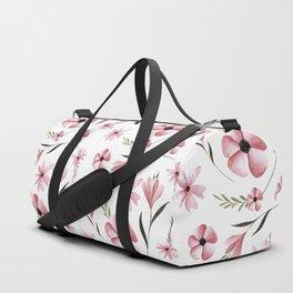 Floral Laurel Duffle Bag