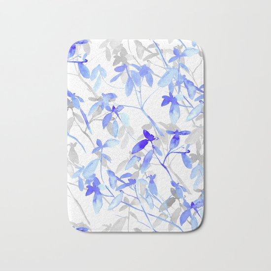 Premonition (Blue Grey) Bath Mat