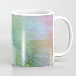 Mystic Warmth Abstract Fractal Coffee Mug