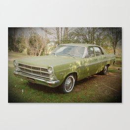 Good Old Ford Fairlane Canvas Print