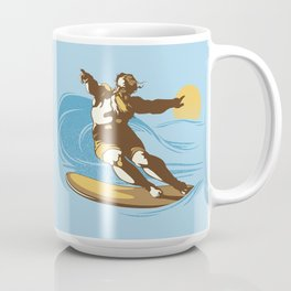 God Surfed Coffee Mug