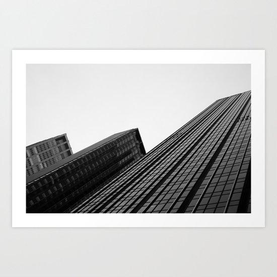 Manhattan Buildings Art Print