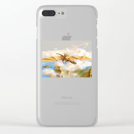 The City Of The Dragon Clear iPhone Case