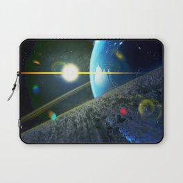 until the moon is no more. Asteroid Field on Earth Laptop Sleeve