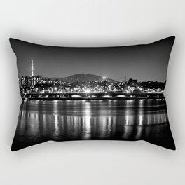 Seoul At Night Rectangular Pillow