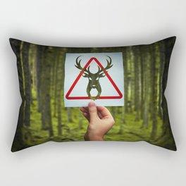 stop poaching Rectangular Pillow