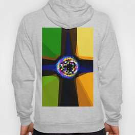 Fractal Cross Over Hoody