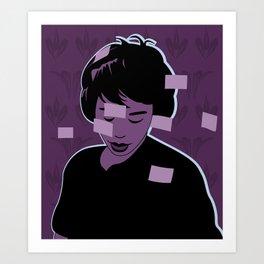 Post-its Art Print