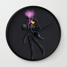 This Time I Might Just Disappear Wall Clock