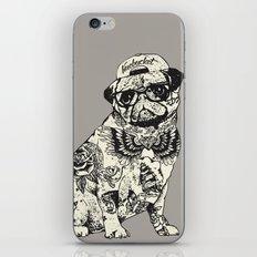 Pug Tattoo iPhone & iPod Skin