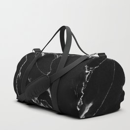 Black Marble I Duffle Bag