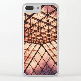 Glass Pyramid // Louvre Clear iPhone Case