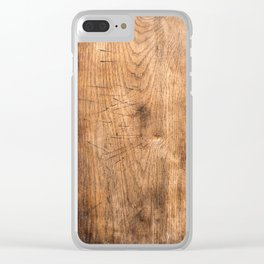Cutting Board Clear iPhone Case