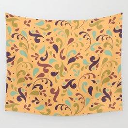 Swirls & Curls Wall Tapestry