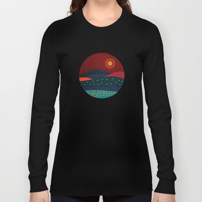 circular landscape Long Sleeve T-shirt