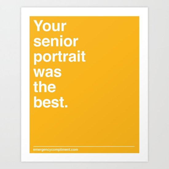 Senior Portrait Art Print