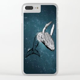 the universe wall Clear iPhone Case