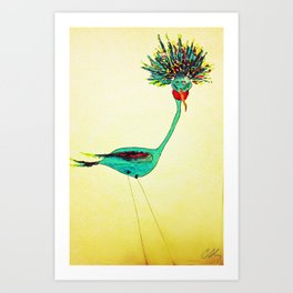 Life of The Party Art Print