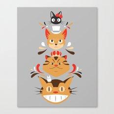Studio Kitty Canvas Print