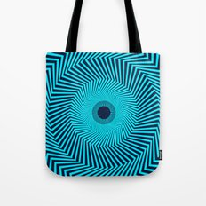 Circular Optical Illusion Tote Bag