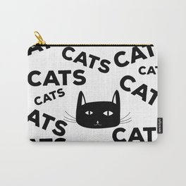 For the love of cats Carry-All Pouch