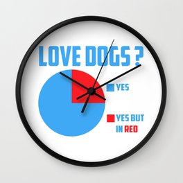 Love dogs? Wall Clock