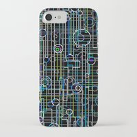 techno iPhone & iPod Cases featuring Techno Music by Shawn King