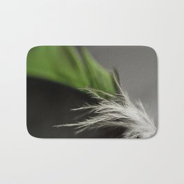 Green Feather Bath Mat