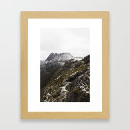 A Moment In The Mountains Framed Art Print