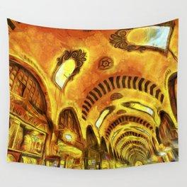 Spice Bazaar Van gogh Wall Tapestry