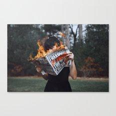 mind fuck america Canvas Print
