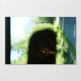 Living Through the Rear View Canvas Print
