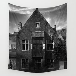 shot on iphone .. canal house Wall Tapestry