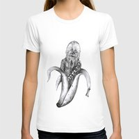 chewbacca T-shirts featuring Chewbacca banana by ronnie mcneil