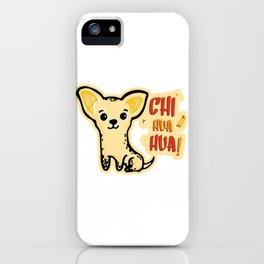chihuahua dog iPhone Case
