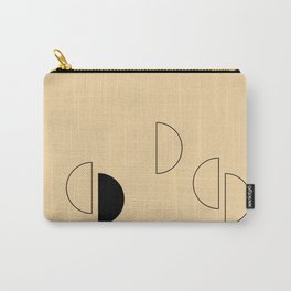 Simple Geometrics - Half Circles Carry-All Pouch