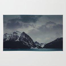 Lake Louise Winter Landscape Rug