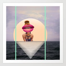isnotawoman Art Print