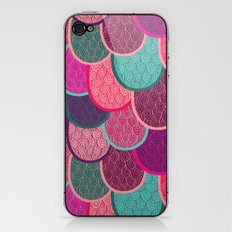 Fish Scales and Mermaid Tales iPhone & iPod Skin