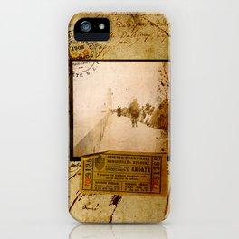 Ephemera 1 iPhone Case