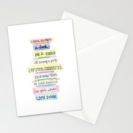 You've Got Mail- Childhood Reading Quote Stationery Cards