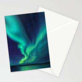 Aurora Borealis Lights Up the Sky (Northern Lights) Stationery Cards
