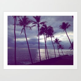 Wave with your Palms Art Print