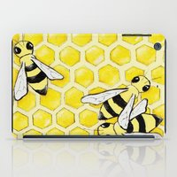 """bees iPad Cases featuring """"Bees"""" by Nicole Jolley"""