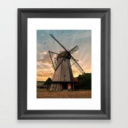 Windmills of Estonia Framed Art Print