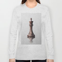 king low poly Long Sleeve T-shirt